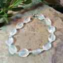 Blue Chalcedony gemstones bracelet