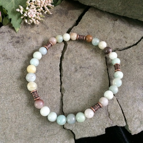 amazonite-metallic-bracelet
