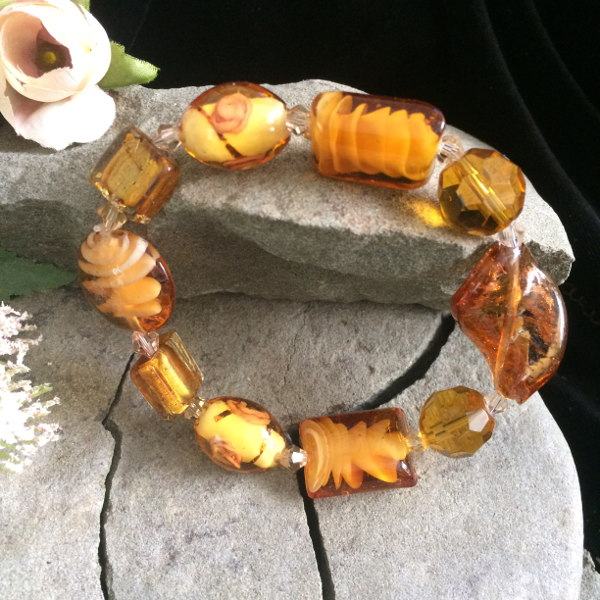 sunset-gold-glass-bracelet